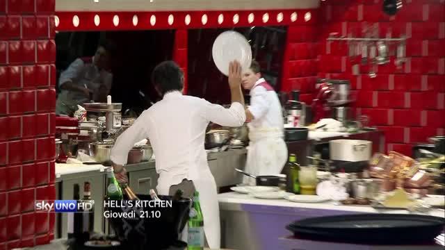 Hell's Kitchen 2 - La terza puntata su Sky Uno