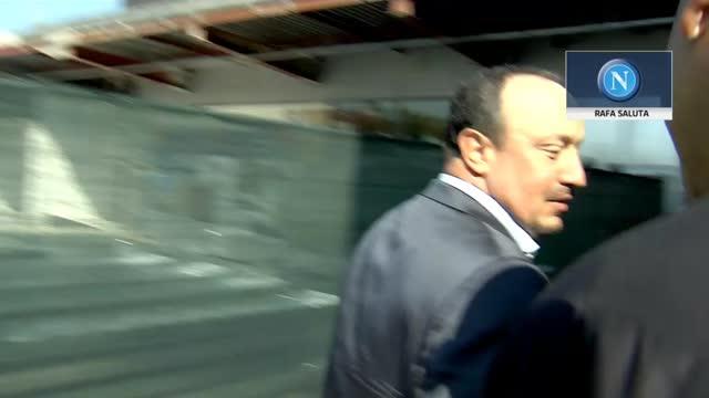 "Benitez va via: ""Sempre forza Napoli"""