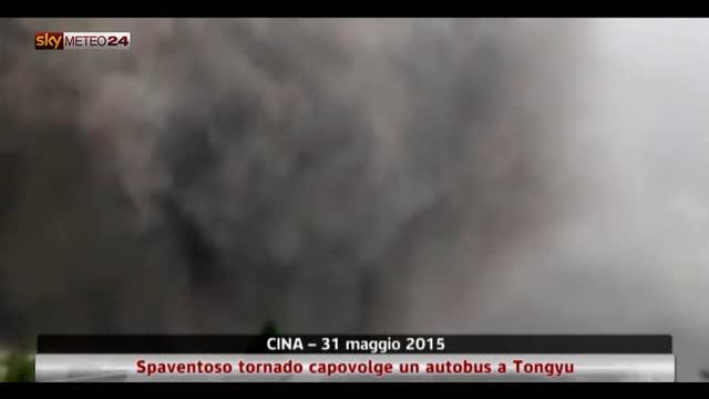 Tornado nel nord ovest della Cina