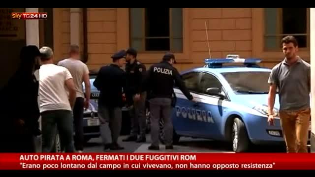 Incidente Roma: arrestati i due rom fuggitivi