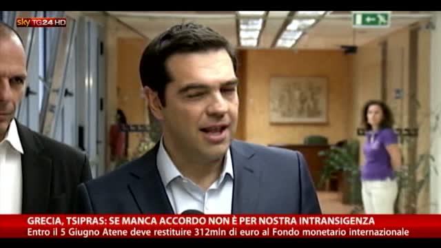 Grecia, Tsipras: se manca accordo è per ossessione creditori
