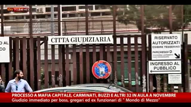 Mafia Capitale, processo a Carminati, Buzzi e altri 32