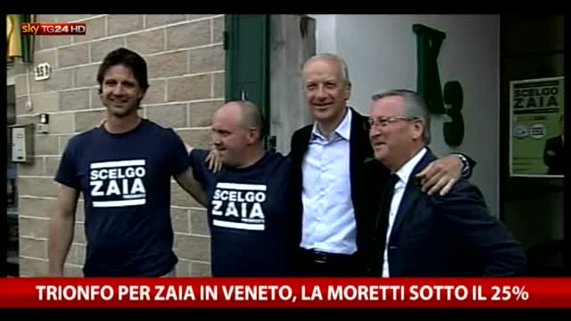 Regionali, Zaia trionfa in Veneto