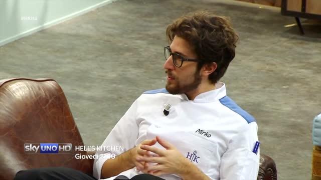 Mirko e Giovanni parlano di Giuseppe - Hell's Kitchen Italia