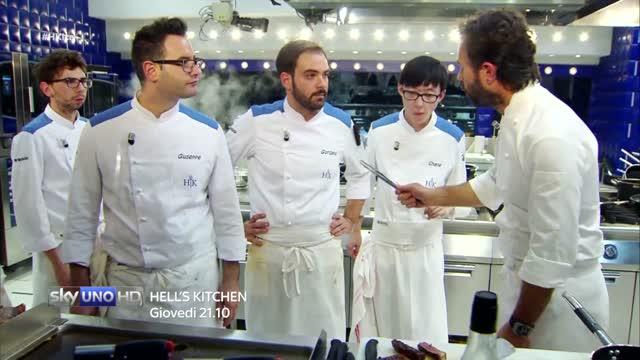 Giallo: chi ha tagliato la tagliata? - Hell's Kitchen Italia