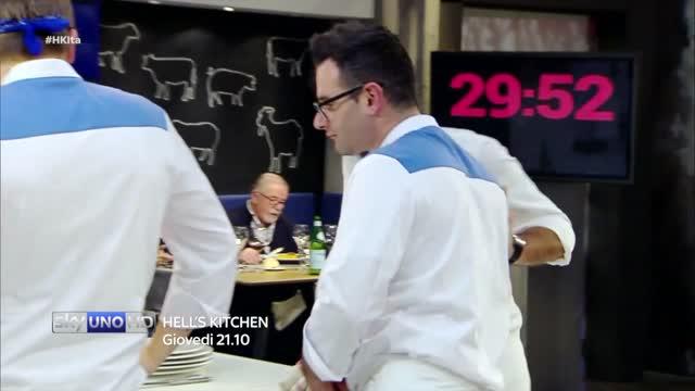 L'improvvisa eliminazione di Giuseppe - Hell's Kitchen