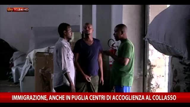Immigrazione, in Puglia centri di accoglienza al collasso