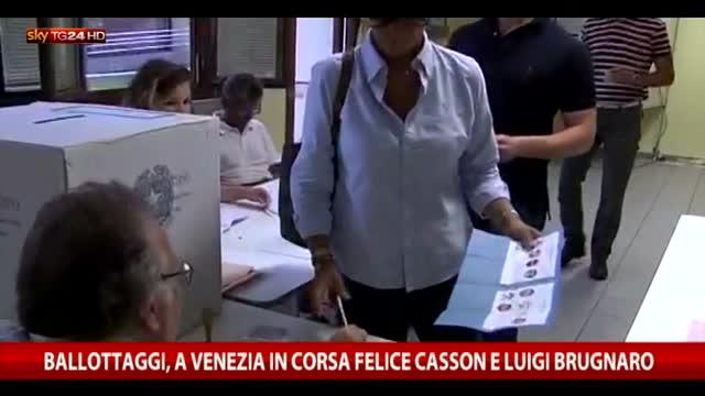 Venezia sfida tra Casson e Brugnaro