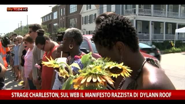 Strage Charleston, sul web il manifesto razzista di Roof