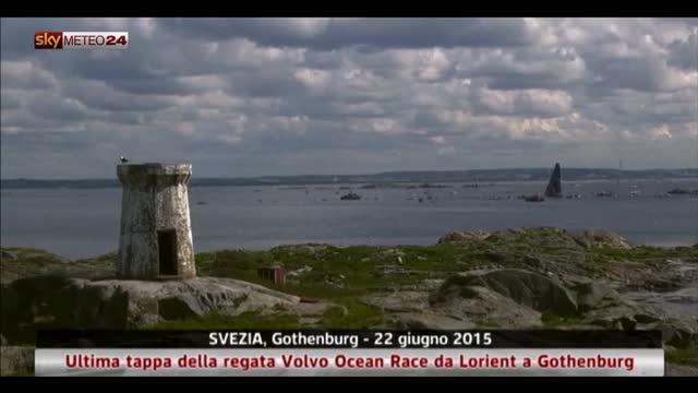 Volvo Ocean Race, l'ultima tappa con arrivo in Svezia
