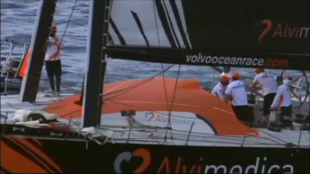 Volvo Ocean Race, a Goteborg trionfa Azzam