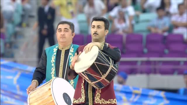 Giochi Europei, la favolosa cerimonia di chiusura