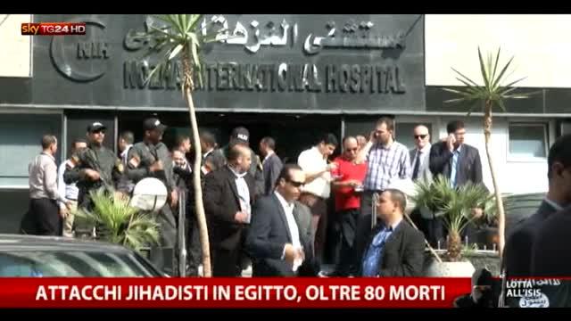 Egitto, offensiva jihadista: almeno 80 morti nel nord Sinai