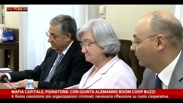 Mafia Capitale, Pignatone: con Alemanno boom Coop Buzzi