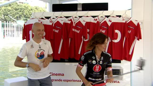 #SpazioSky in Darsena: tra selfie, ciclismo e scherma