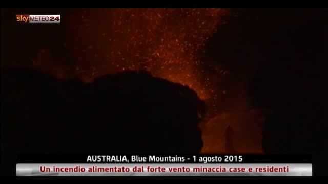 Insolito incendio in inverno in Australia