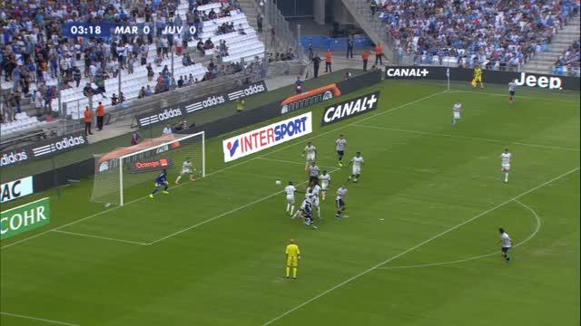 Amichevole estiva, Marsiglia-Juventus 2-0