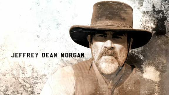 Texas Rising: Jeffrey Dean Morgan è Deaf Smith