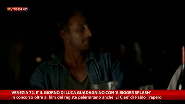 Cinema, a Venezia è il giorno di Luca Guadagnino