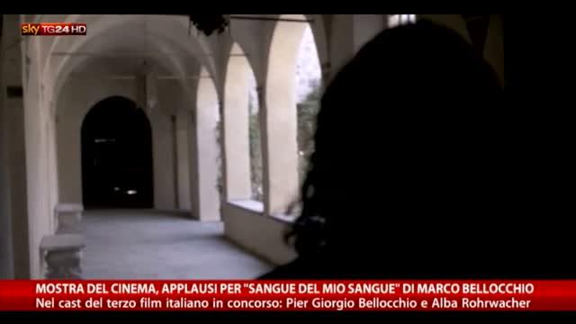 """Venezia, applausi per """"Sangue del mio sangue"""" di Bellocchio"""