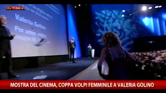 Mostra del Cinema di Venezia premiata Valeria Golino