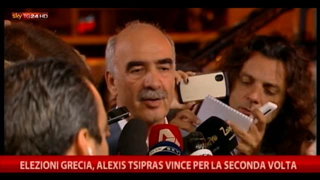 Grecia, Tsipras vince per la seconda volta le elezioni