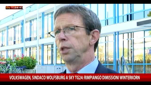 Sindaco Wolfsburg a SkyTG24: rimpiango dimissioni Winterkorn