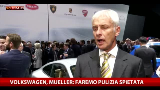 """Volkswagen, l'ad Mueller: """"Faremo pulizia spietata"""""""
