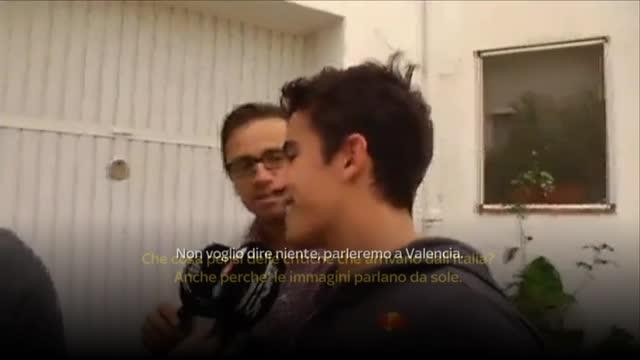 Marquez, no comment su Rossi