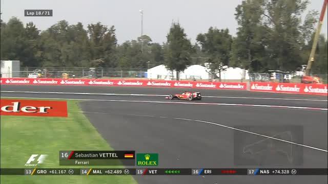 Testacoda Vettel: quanta fatica per la Rossa in Messico