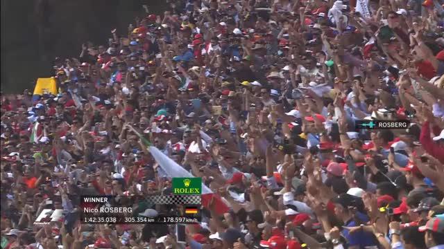 Messico, riecco Rosberg: il team radio al traguardo