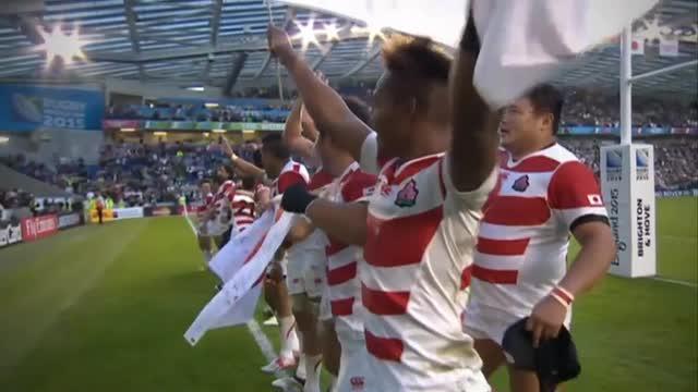 Grandi emozioni da Rugby World Cup