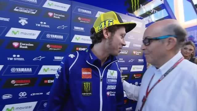 """Rossi a Ezpeleta: """"Te l'avevo detto..."""""""