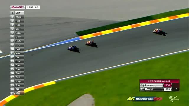 """Rossi: """"Marquez penoso negli ultimi giri"""""""
