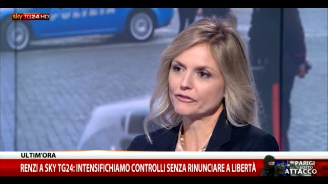 Renzi: in Italia spese sicurezza fuori da patto stabilità