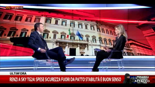 Renzi a Sky TG24: serve investimento in cyber securitity