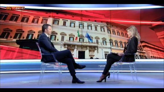 Renzi a SkyTG24: sicurezza senza rinunciare a identità