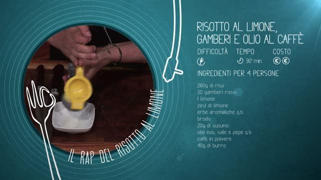 Alessandro Borghese Kitchen Sound - Risotto al limone rap