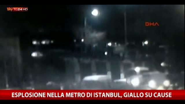Esplosione nella metro di Istanbul: giallo sulle cause