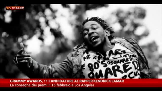 Grammy Awards, 11 candidature al rapper Kendrick Lamar