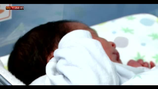 E' nato a Roma Marco Filippo, primo bimbo del 2016