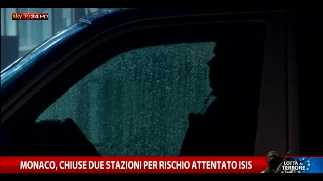 Monaco, chiuse due stazioni per minaccia attacco Isis