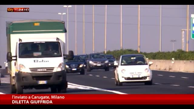 Aumentano i pedaggi autostradali, +6,5% sulla Milano-Torino