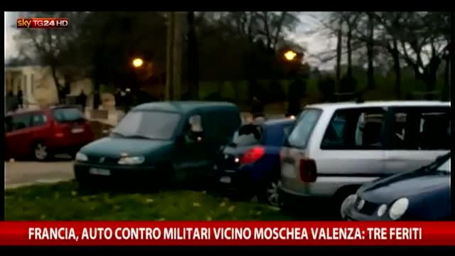 Francia, auto contro militari vicino a moschea: 3 feriti