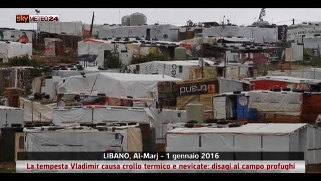 Capodanno gelato per i rifugiati siriani in Libano