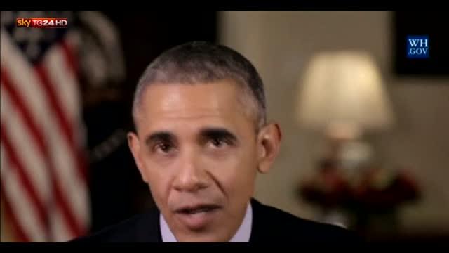 Obama, primo messaggio d'anno