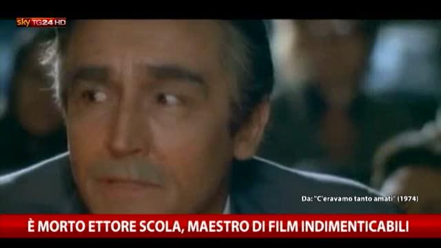 Ettore Scola, maestro di film indimenticabili