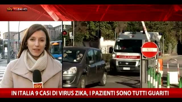 Zika, in Italia 9 casi: pazienti tutti guariti