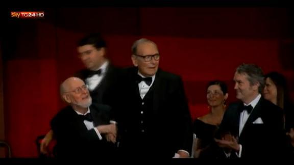 Oscar 2016, il premio a Ennio Morricone