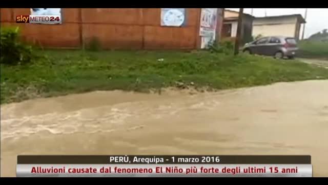 El Niño causa alluvioni in Perù
